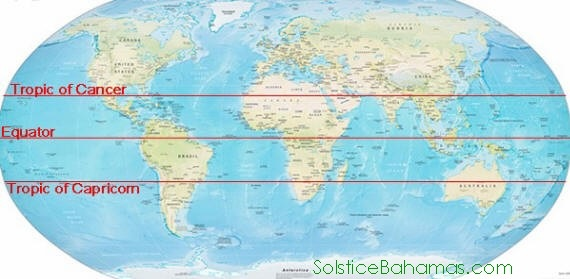The tropic of cancer and capricorn science news southern hemisphere winter on june 21st when the sun is directly over the tropic of cancer at noon it is not visible from below the antarctic circle gumiabroncs Image collections