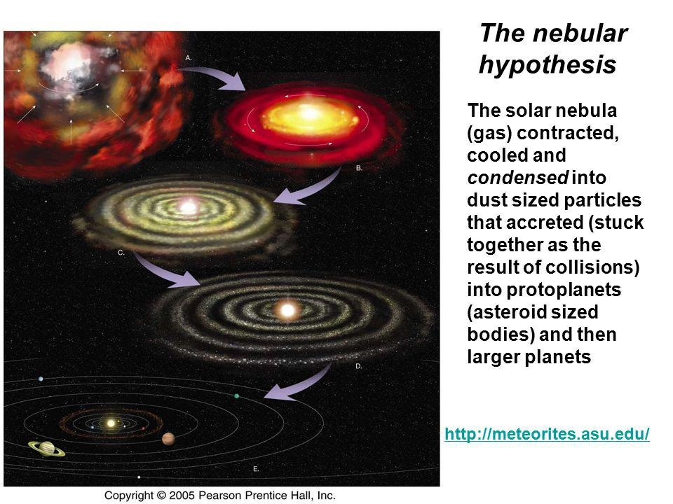 formation of the solar system review