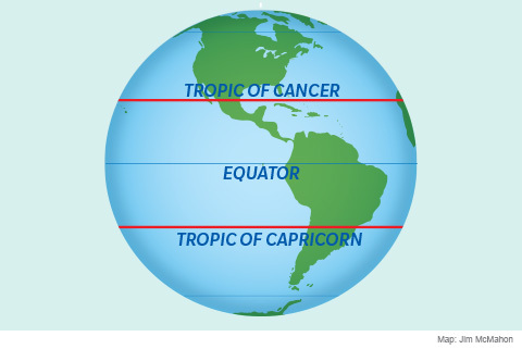 The tropic of cancer and capricorn science news okay yeah thats enough mapsyou get the picture gumiabroncs Image collections